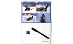 Calendriers A4 (210 x 297 mm)